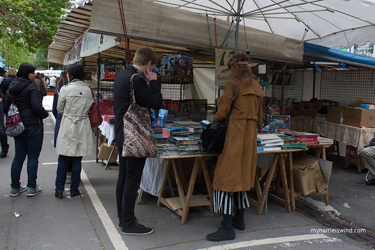 marcheaux puces porte vanves. Pchle targi w Paryżu