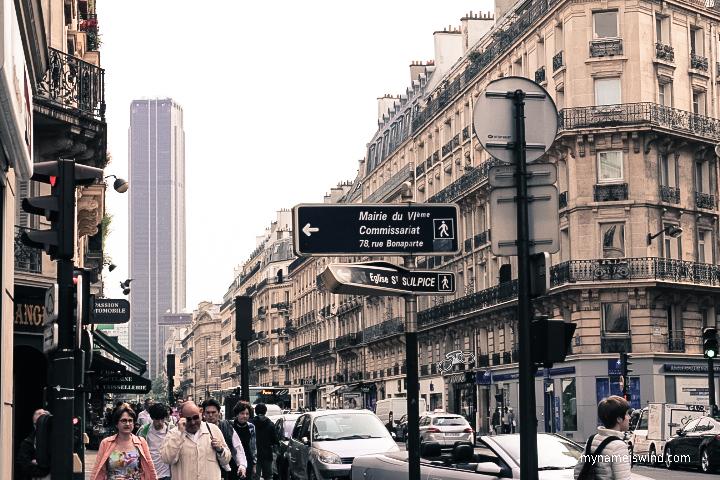Gdzie robić zakupy w Paryżu, Rue de Rennes w 14 dzielnicy