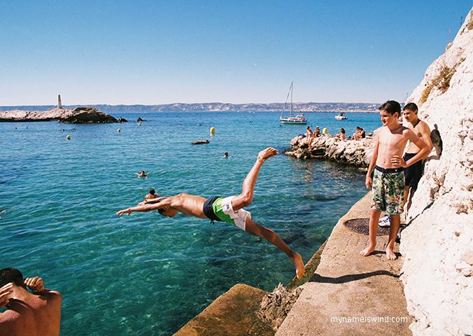 Atrakcje Marsylii-wybrzeże 7 dzielnicy