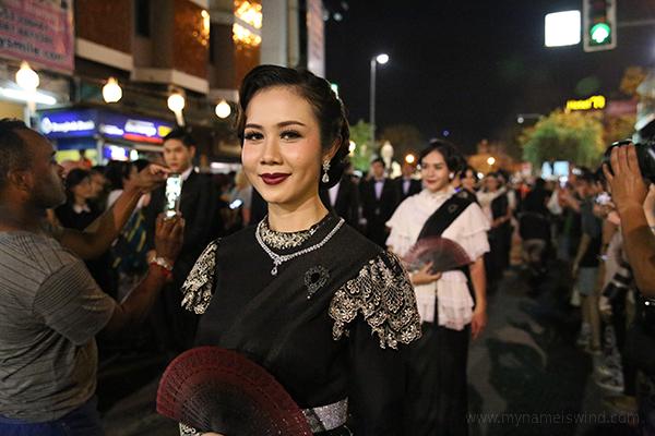 Chiang Mai. Festiwal Latarnii. Parada