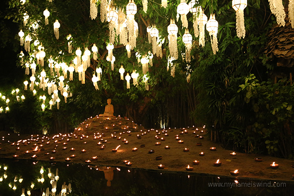 Festiwal latarnii w Tajlandii