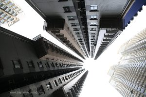 Hong Kong- miasto kobiet w kartonach