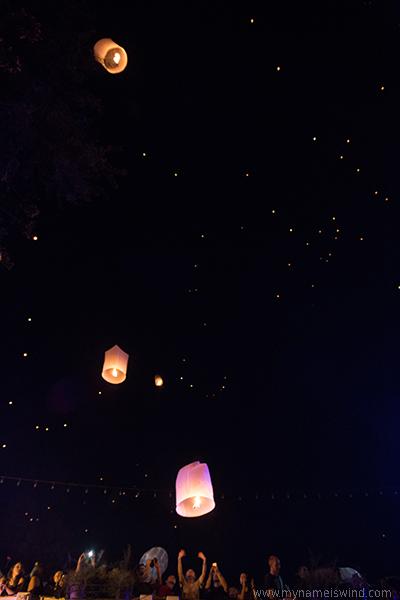Festiwal latarni w Tajlandii
