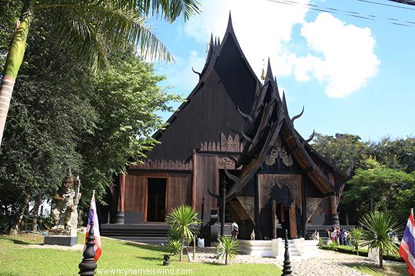 Czarne domy Chiang Rai