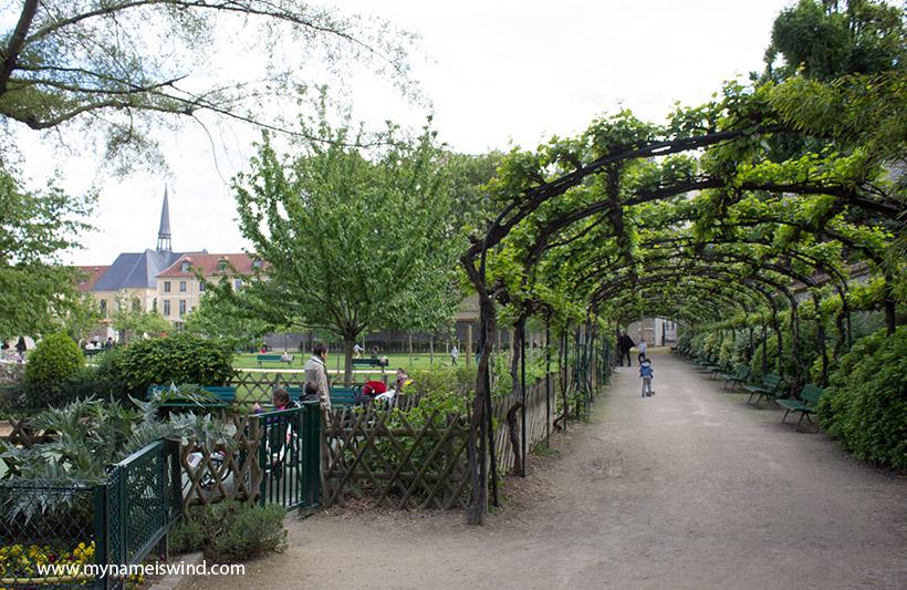 Paryż sekretne ogrody