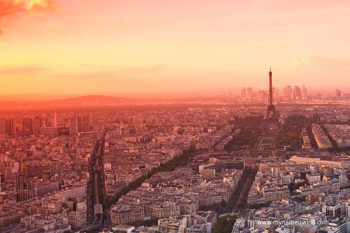 romantyczny paryż