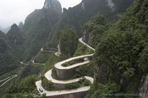 Góra Tianmen – spacer w chmurach