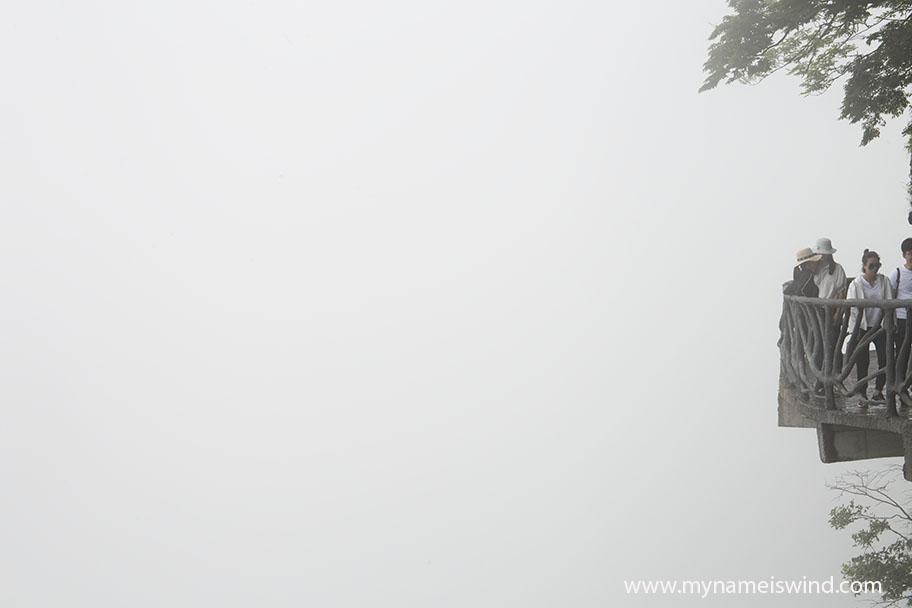 Atrakcje przyrodnicze chin. Zhangjiajie. Góra Tianmen