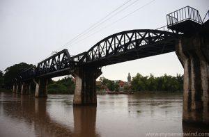Most na rzece Kwai i Kanchanaburi City