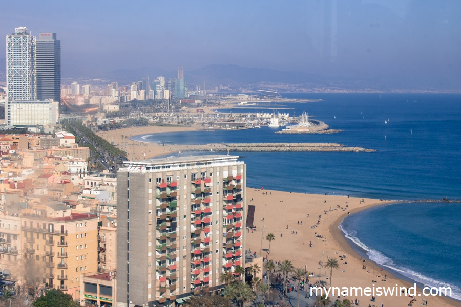 Plaże Barcelony