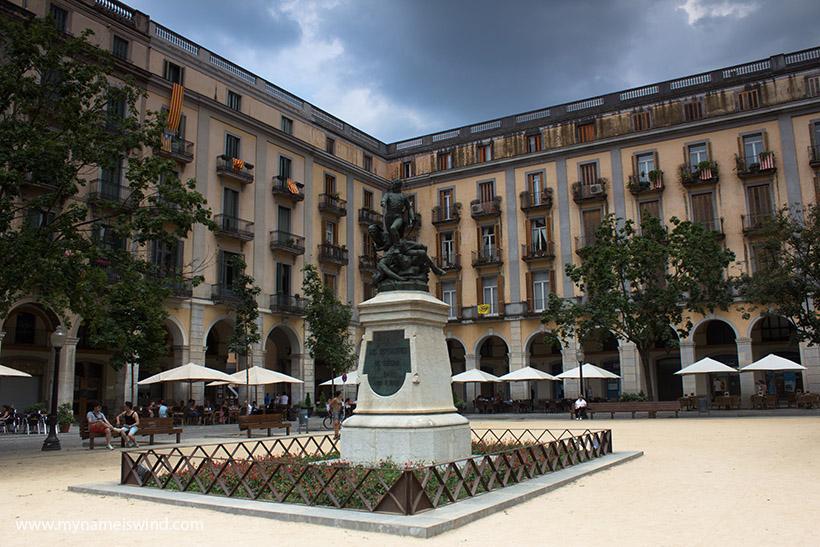 Girona. Hiszpania.