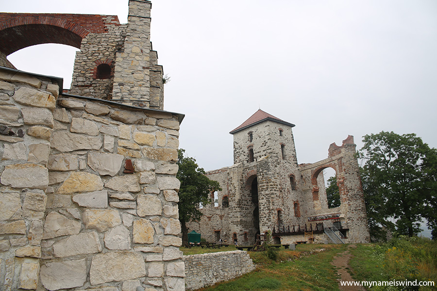 zamek tenczyn rudno