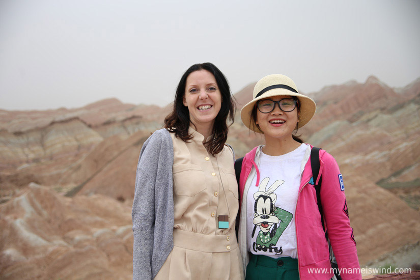 Tęczowe Góry Danxia Chiny