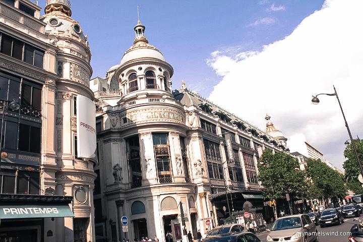 Gdzie robić zakupy w Paryżu.