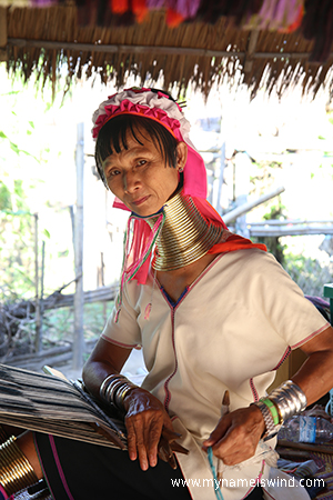 Wioska Długich Szyj. Plemię Karen