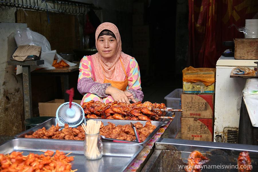 Xi an atrakcje -muzułmańska dzielnica