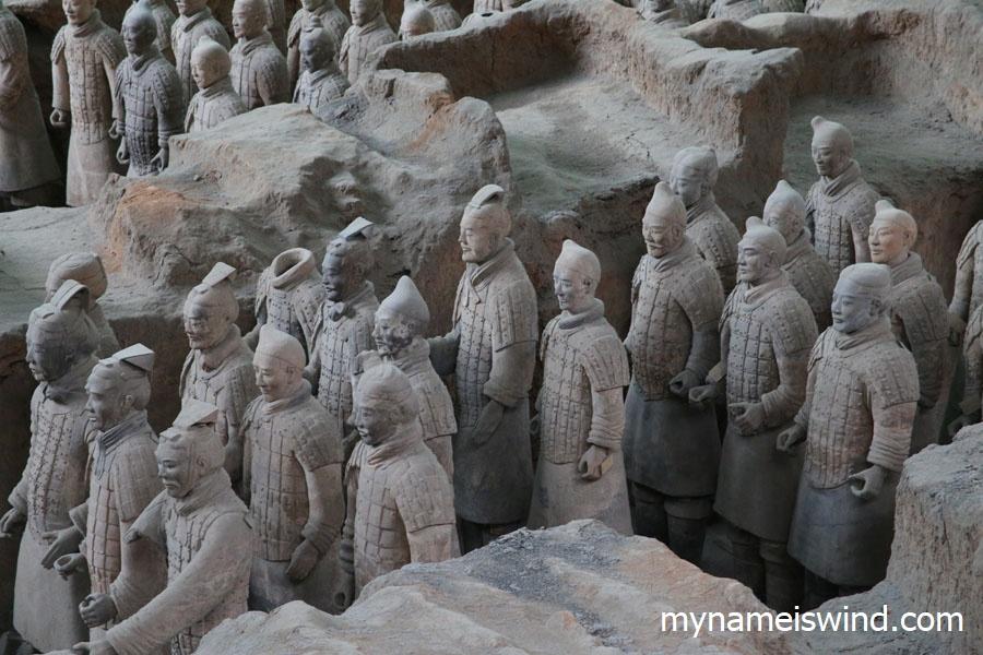 Xian Chiny Armia z Terakoty