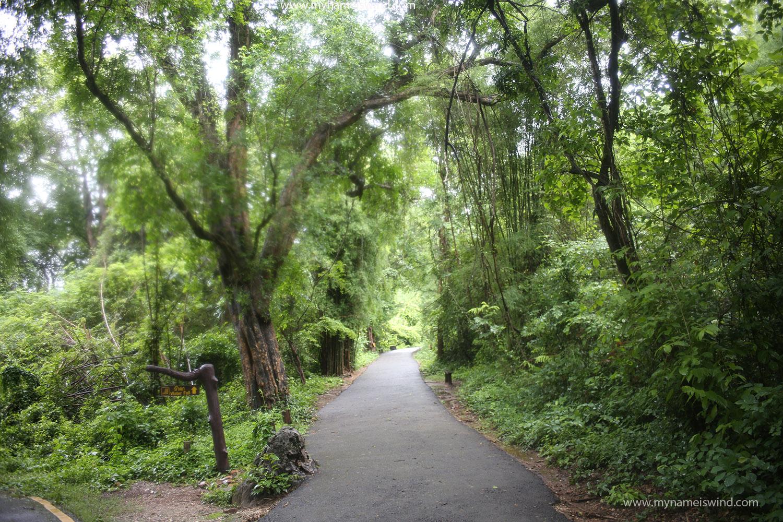 Kanchanaburi. Wodospady Erawan