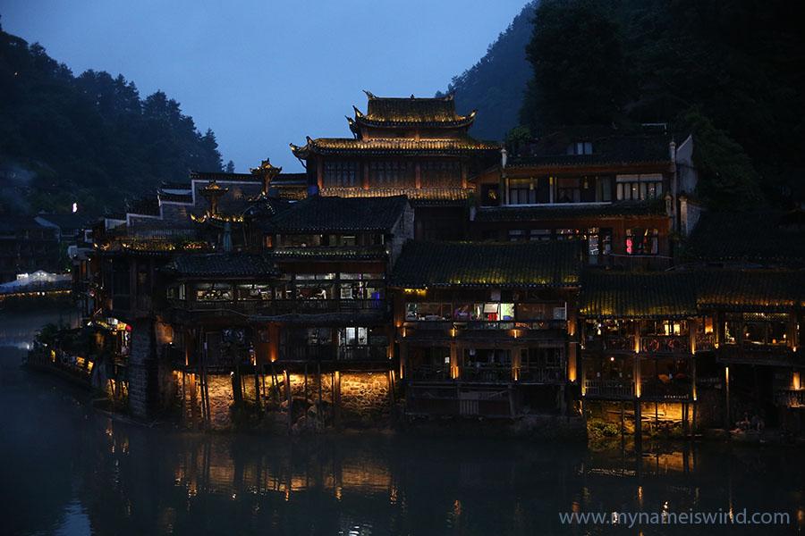 Fenghuang. Miasto Fenixa