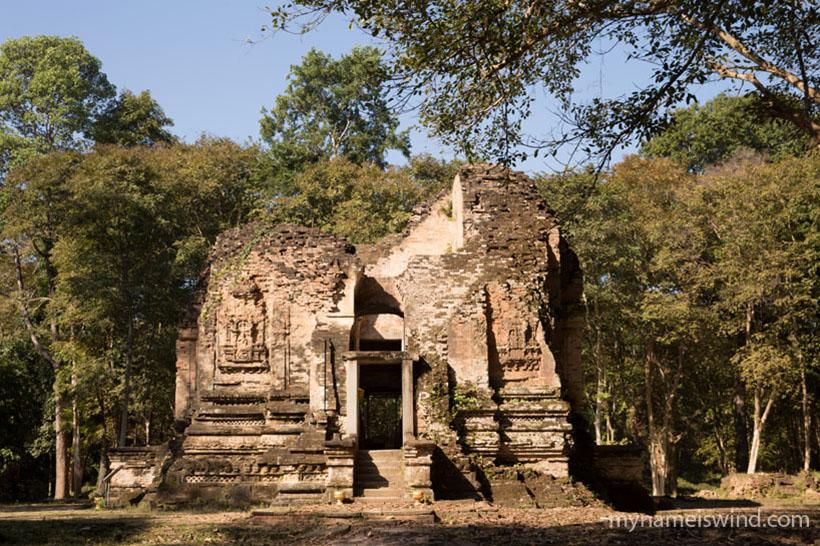 Zabytki w Kambodży: Sambor Prei Kuk