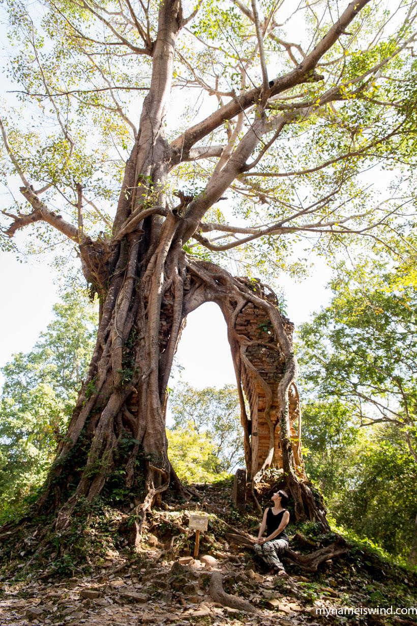 Sambor Prei Kuk Kambodża (1)