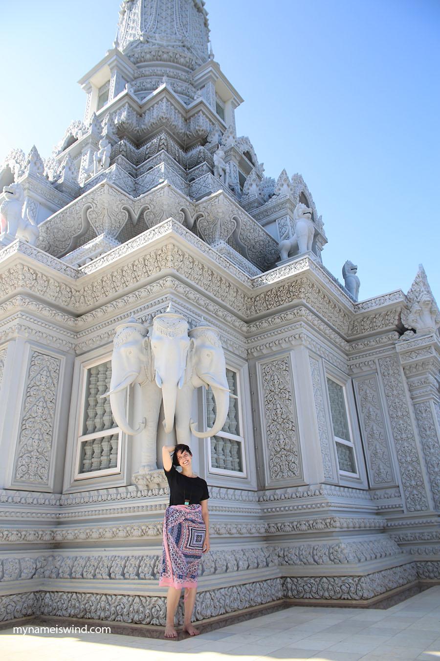 kambodża co zwiedzać oudong