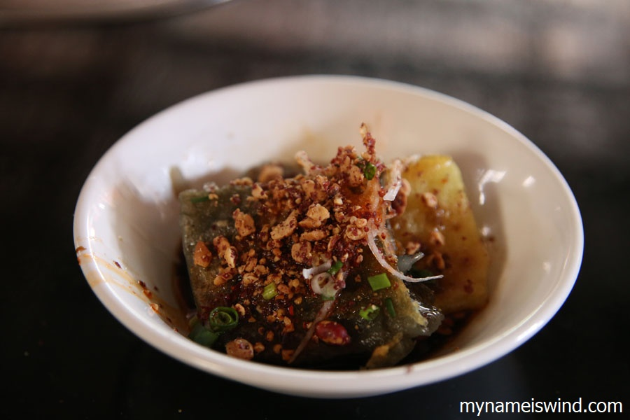 yunnan chiny. jedzenie w chinach. tofu