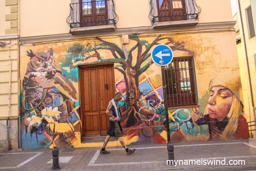 Grenada graffiti El Nino